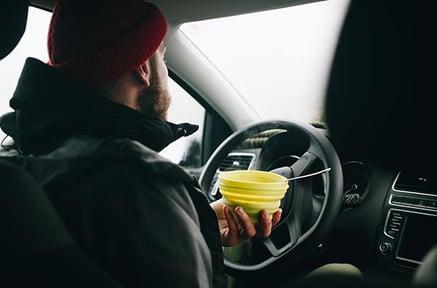 eat-in-car-meal-preparation